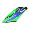 Fusuno Complete New Design SWIFT GLORY Airbrush Fiberglass Canopy Trex 700 EX Nitro