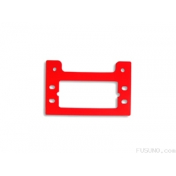 FUSUNO Painted Neon Red Fiberglass Tail Servo Mount Trex 500 - FUF-110