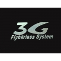 3G Flybarless System Decal - Small size (30mm x 62mm)
