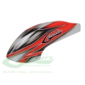 Canomod Airbrush Canopy Red/White - Goblin 500 [H0271-S] (SOLD OUT)
