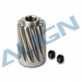 Align Motor Slant Thread Pinion Gear 13T H80G003XXW [Recommend to be used with 850mx motor] (SOLD OUT)