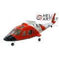 HeliArtist A109 600 Size With Retract System (RED) [HA600A109R]