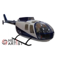 HeliArtist BO-105 Police Scale Body (600 Size) [Ex Shop Display] (SOLD OUT)