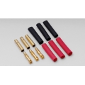 Hyperion 4.0mm Long Gold Connectors-3 Pair [HP-CONN-40-3MF] (SOLD OUT)