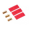 6.0mm Gold Connector (3male + shrink tube) (SOLD OUT)
