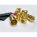 Hyperion 6.0mm Gold Connectors - 3 pair with shrink [HP-CONN-60-3MF] (SOLD OUT)