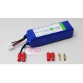 Hyperion Transmitter Battery Pack - LiFe 9.9V 2100mAh (Waranty Safe for JR Transmitter) - [HP-FG305-2100-3S]