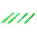 HQ Props 5X4.6 BULLNOSE STYLE PROP GREEN (CW & CCW 2 PAIRS)