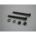 4mm Muffler Bolt with Nuts and Ringpairs (for 90 Size Muffler)