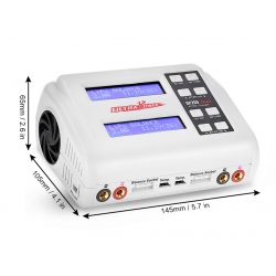 Ultra Power UP200 DUO AC DC 100W Lipo Battery Balance Charger (SOLD OUT)