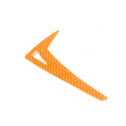 LX0183 - Vertical Fin T-REX450 PRO,SPORT - G10 Orange (SOLD OUT)
