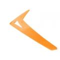 LX0187 - Vertical Fin T-REX550-600 - G10 Orange (SOLD OUT)