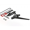 LX0885 - GOBLIN 500 - 550 Stretch Tail Kit - Red ( SOLD OUT)