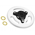 LX0938 - T 150 - Ultra Main Gear Hub - 78T - Black (SOLD OUT)