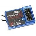 Hitec Minima 6T Rx (Top-Pin) 6Ch 2.4GHz AFHSS Micro Receiver (SOLD OUT)