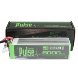 PLU35-50006 - PULSE LIPO 5000mAh 22.2V 35C- ULTRA POWER SERIES