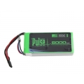 PLURX-50002 - PULSE LIPO 5000mAh 7.4V RX- ULTRA POWER SERIES