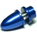 3mm Hole Blue Metal Propeller Adapter