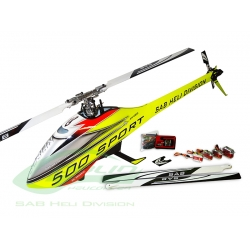SG510 - Goblin 500 Sport Combo Yellow/Red (SOLD OUT)