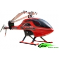 SAB Goblin 700 Flybarless Helicopter Kit RED (with black/white SAB blades)
