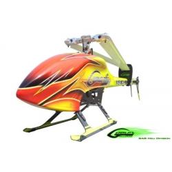 SAB Goblin 700 Flybarless Helicopter Kit YELLOW (with black/white SAB blades) [On Stock]
