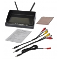 """Boscam 7"""" LCD FPV RX-LCD5802 5.8Ghz Monitor Diversity Receiver Built-in Battery"""