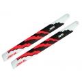 ZHM-NRG325C ZEAL Energy Carbon Fiber Main Blades 325mm (Neon Orange)