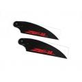 ZHT-062C ZEAL Carbon Fiber Tail Blades 62mm (Neon Orange)