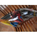 Canopy Synergy N9 Spiderman Airbrushed (Never Been Used)