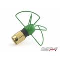 FuriousFPV Antenna Pinwheel 5.8Ghz-Short-Green  Write a review
