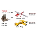 PROMO: ASP FS180AR with Cessna 182 kit or Bulldog kit