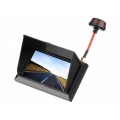 FXT F408 4.3 Inch LCD Screen FPV Monitor Display - 5.8G 32CH Wireless Receiver