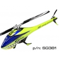SAB Goblin 380 Flybarless Electric Helicopter Yellow/Blue Kit (SOLD OUT)