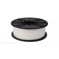 3D PRINTER PLA FILAMENT, 1.75MM, 0.5KG (WHITE)