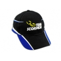 Scorpion Motor Cap (Black/Blue)