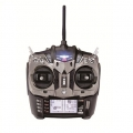 JR XG8 DMSS 2.4Ghz 8ch Telemetry Radio, Tx/Rx Black Ed. (SOLD OUT)