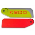 KBDD Extreme Edition Carbon Fiber 105mm Tail Blade Set
