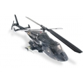 Airwolf Deluxe 50 ARF | Glossy Black FKH-8404A