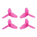 3-Blade 31mm Props (0.8mm Hole) Pink