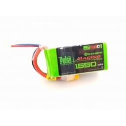 PULSE Graphene 1550mAh 4S 14.8V 100C Battery w/XT60