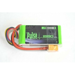 PULSE 1550mah 3S 11.1V 45C - LiPo Battery (SOLD OUT)