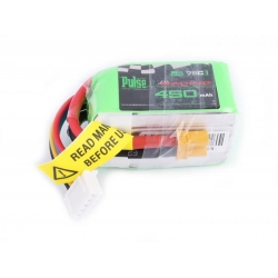 PULSE 450mAh 4S 14.8V 75C - FPV Racing series - LiPo Battery