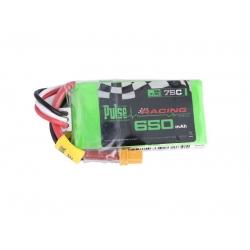 PULSE 650mAh 2S 7.4V 75C - FPV Racing Series - LiPo Battery