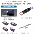Powercombo Set 2 For Skywalker/Xtalon/X8 UAV Planes (SOLD OUT)