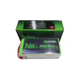 PULSE 22000mAh 6S 22.2V 25C - LiPo Battery (SOLD OUT)