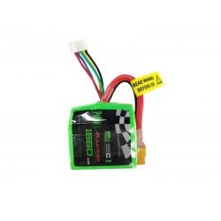 PULSE 1550mAh 14.8V 4S 95C Cube Lipo Battery with XT60 Plug