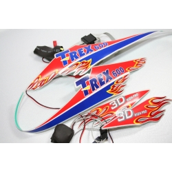 Flashing Sticker for Night Flight - T-REX 600