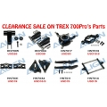 Trex 700N pro Black Metal Parts (CLEARANCE SALE) [PLEASE CLICK THE PHOTO TO SEE PRICE]