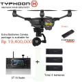Yuneec Typhoon H with 2 extra battery (total 3 battery) [Rp19,400,000]