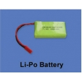 Lithuim polimer battery 7.4v 480mAh